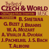 Koncert THE BEST CZECH AND WORLD MUSIC- Praha